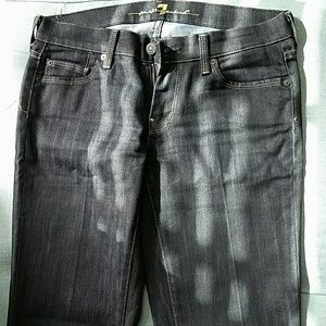 7 for all mankind deep denim jeans sz. 28